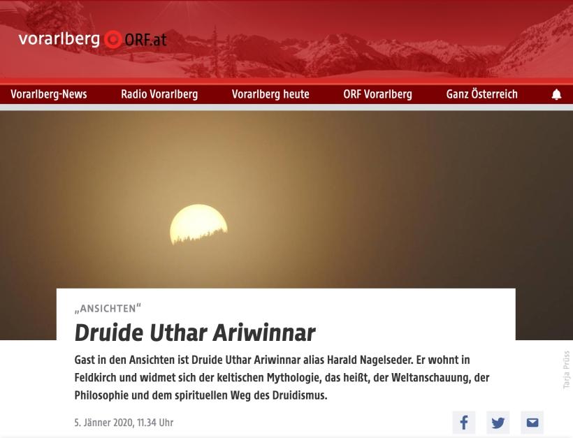 Uthar Interview bei Radio Vorarlberg